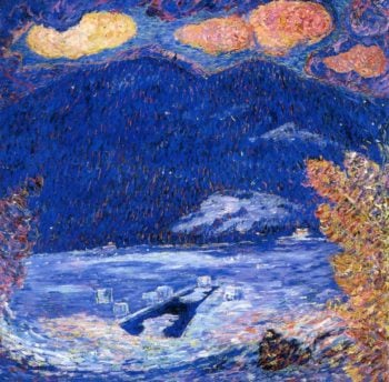 The Ice Hole | Marsden Hartley | oil painting
