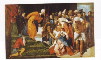 Esther Before Ahasuerus | Tintoretto | oil painting
