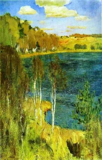 The Lake 1898   Isaac Ilich Levitan   oil painting