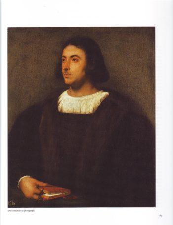 Portrait Of Jacopo Sannazaro | Titian | oil painting