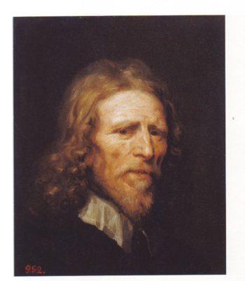 Portrait Of Abraham Van Der Doort | William Dobson | oil painting
