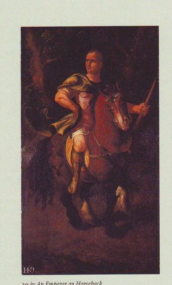 An Emperor On Horseback | Workshop Of Giulio Romano | oil painting