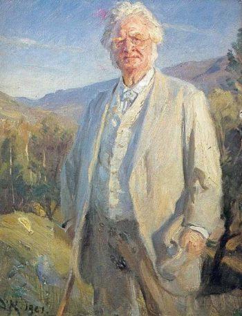 Bjornstjerne Bjornson | Peder Severin Kroyer | oil painting