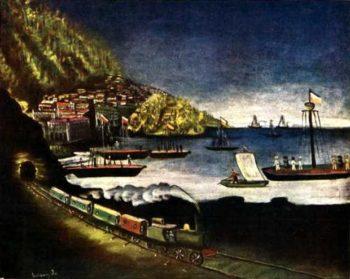 Batumi | Niko Pirosman | oil painting