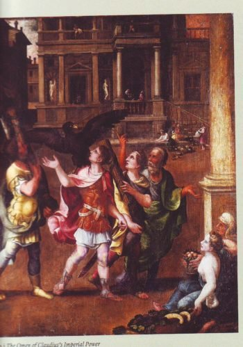 The Omen Of Claudius-Imperial Power | Workshop Of Giulio Romano | oil painting