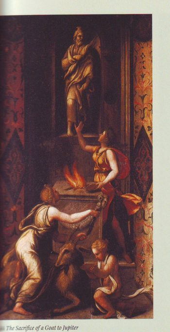 The Sacrifice Of A Goat To Jupiter | Workshop Of Giulio Romano | oil painting