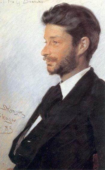 Georg Brandes | Peder Severin Kroyer | oil painting