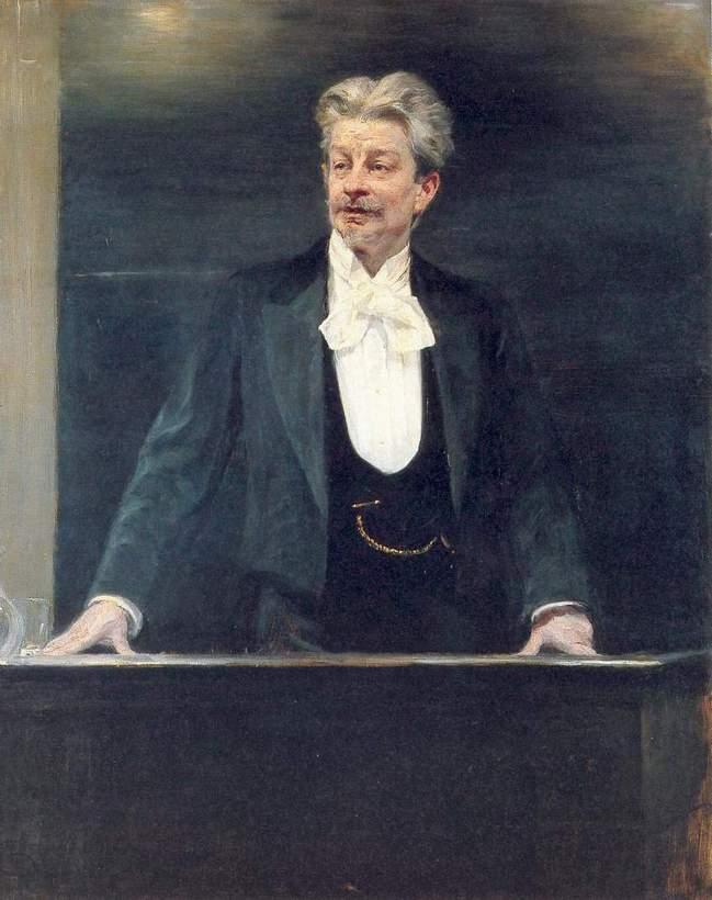 George Brandes | Peder Severin Kroyer | oil painting