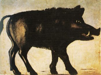 Boar | Niko Pirosman | oil painting