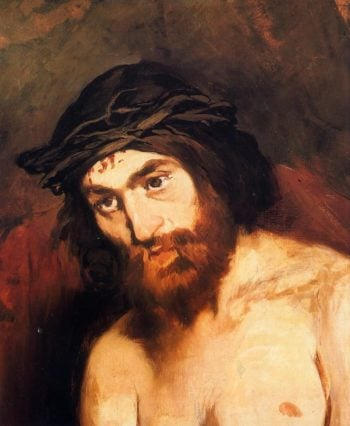 The Head of Christ | Edouard Manet | oil painting