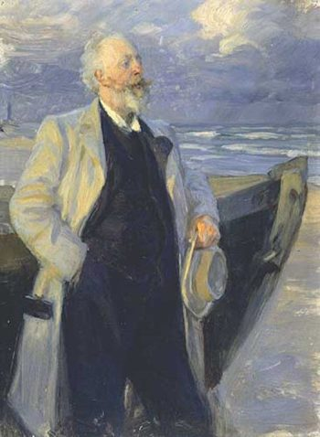 Holger Drachman 1 | Peder Severin Kroyer | oil painting