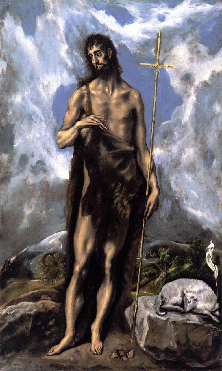 St. John the Baptist | El Greco | oil painting