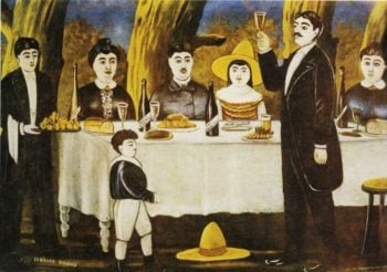 Family Feast | Niko Pirosman | oil painting