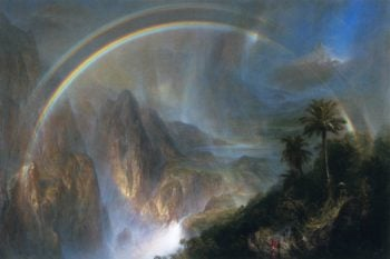 Rainy Season in the Tropics | Frederic Edwin Church | oil painting