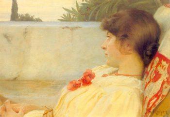 Marie en Ravello | Peder Severin Kroyer | oil painting