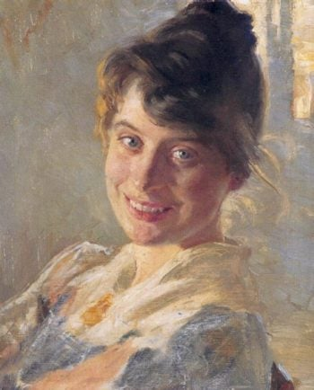 Marie Kroyer Portrait | Peder Severin Kroyer | oil painting