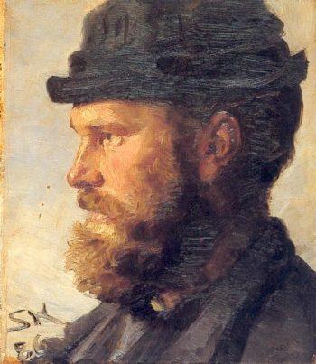 Michael Ancher   Peder Severin Kroyer   oil painting