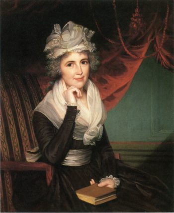 Mrs. John Rogers (Elizabeth Rodman Rogers) | James Earle | oil painting