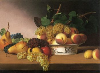 Still Life with Fruit | James Peale | oil painting