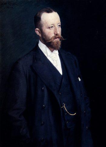 Portrait Of A Gentleman | Peder Severin Kroyer | oil painting