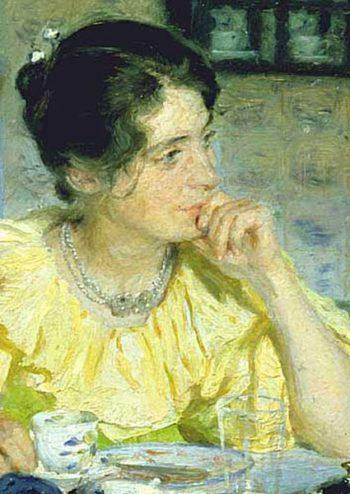 Portrait of Marie Kroyer 2 | Peder Severin Kroyer | oil painting