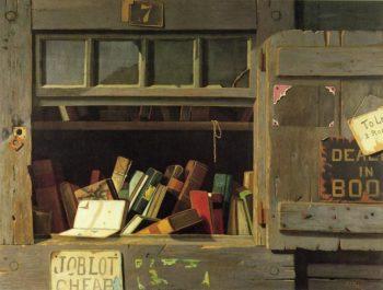 Job Lot Cheap   John Frederick Peto   oil painting