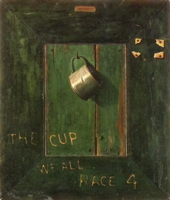 The Cup We All Race 4 | John Frederick Peto | oil painting