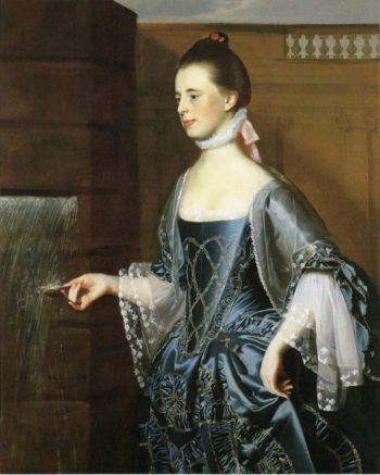 Mrs. Daniel Sargent (Mary Turner Sargent) | John Singleton Copley | oil painting