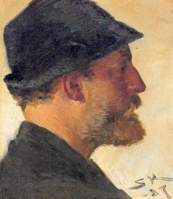 Viggo Johansen | Peder Severin Kroyer | oil painting