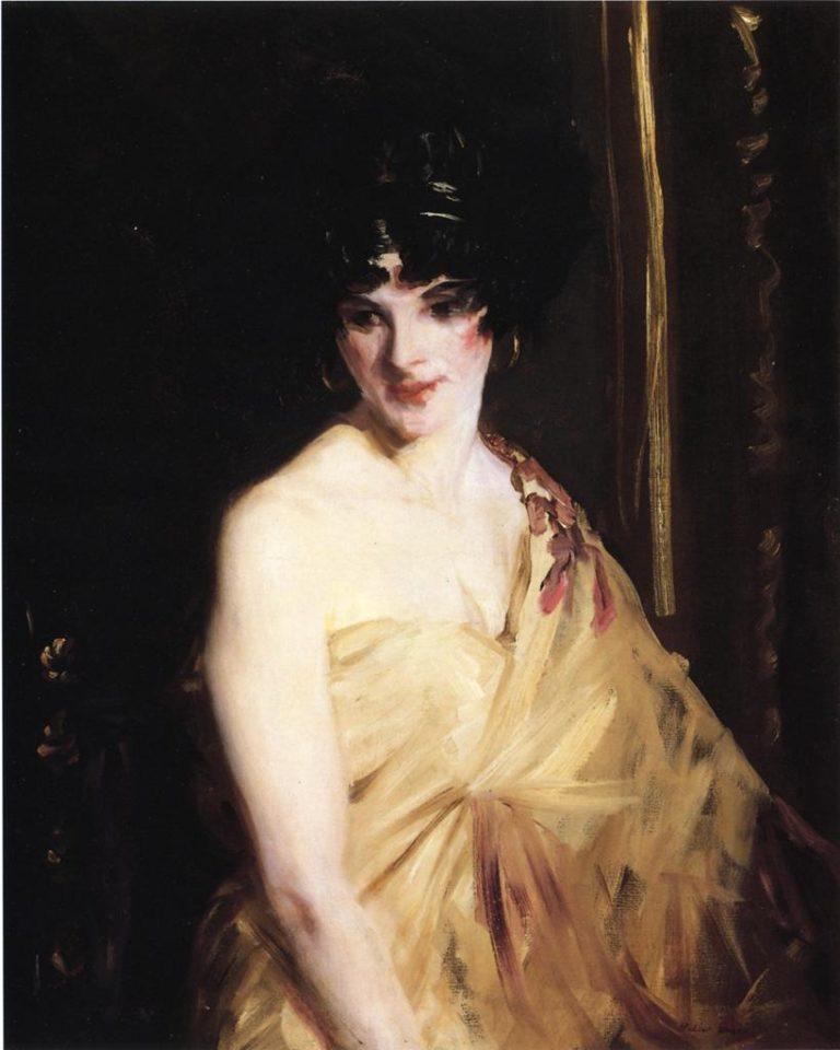 Betalo The Dancer | Robert Henri | oil painting