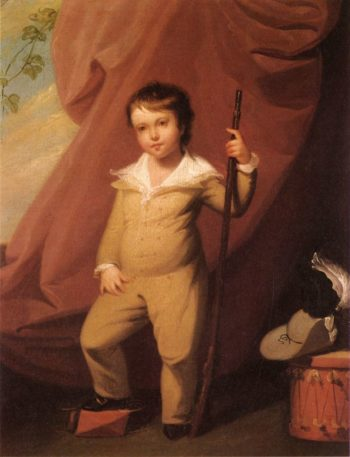 Philip Church | John Trumbull | oil painting