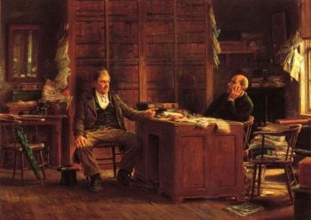 A Country Lawyer | Edward Lamson Henry | oil painting