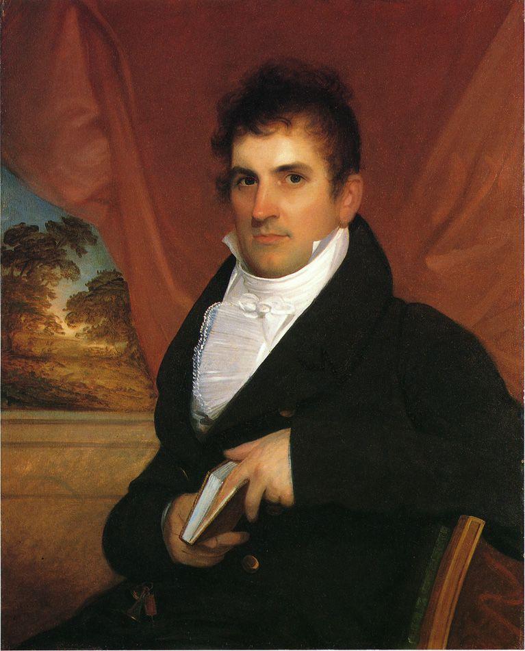 Phiip Hone   John Wesley Jarvis   oil painting