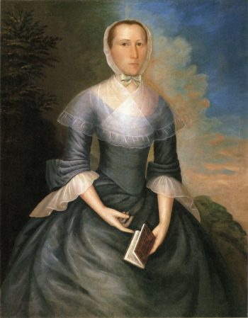 Mrs. Nathaniel Brown (Anna Porter Brown) | Joseph Badger | oil painting