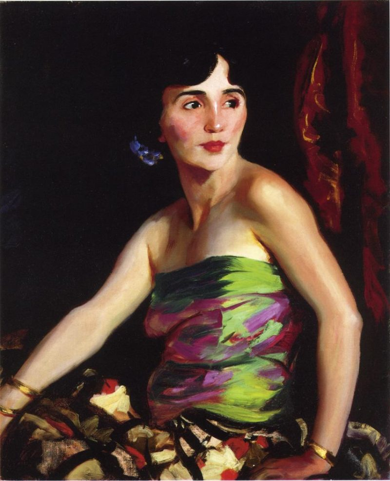 Isolina Maldonado Spanish Dancer | Robert Henri | oil painting