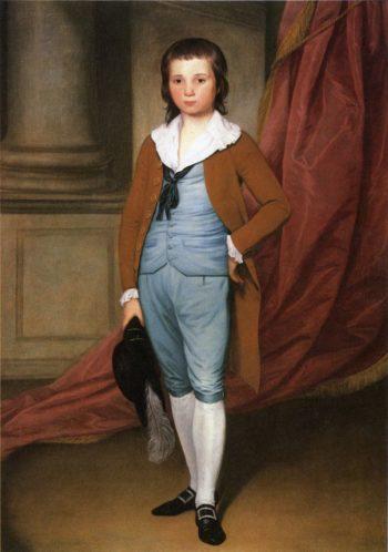 John Coates Browne   Joseph Wright   oil painting