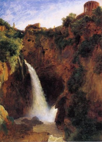 The Falls at Tivoli | Louise Josephine Sarazin de Belmont | oil painting