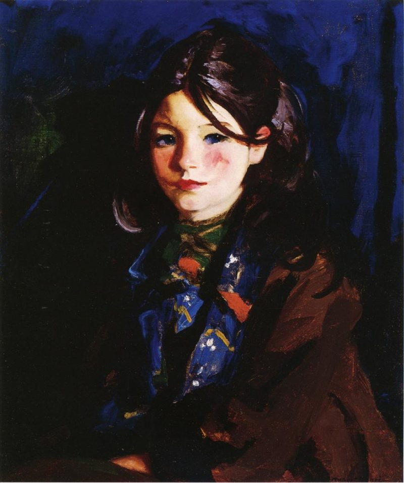 Letecia   Robert Henri   oil painting