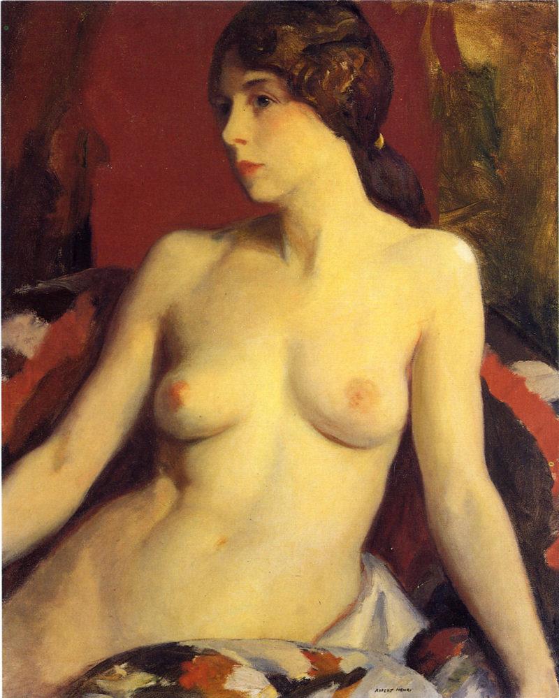 Mata Moana   Robert Henri   oil painting