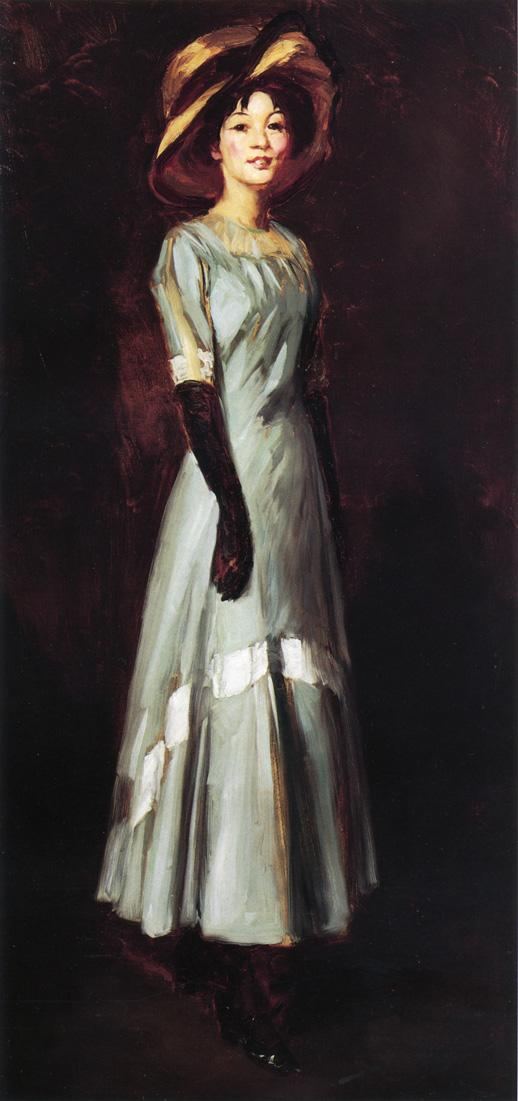 Miss Kaji Waki | Robert Henri | oil painting