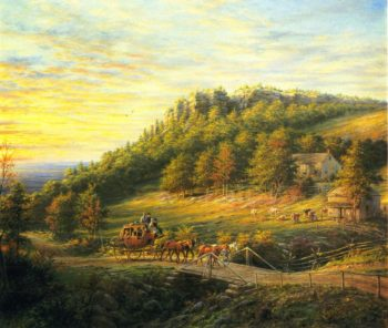 Bear Hill | Edward Lamson Henry | oil painting