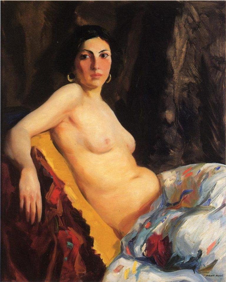 Oriental   Robert Henri   oil painting