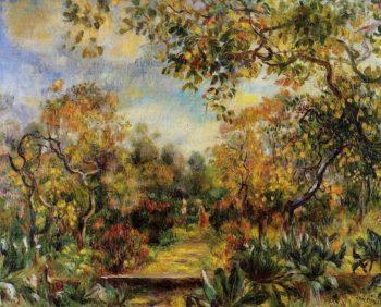 Beaulieu Landscape | Pierre Auguste Renoir | oil painting