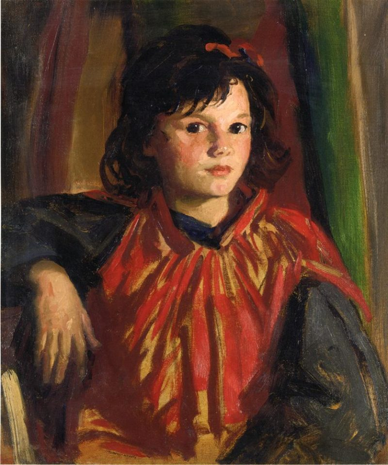 Pegeen   Robert Henri   oil painting
