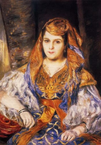 Madame Stora in Algerian Dress | Pierre Auguste Renoir | oil painting