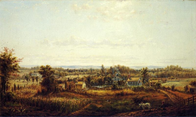 Country Landscape | Edward Lamson Henry | oil painting