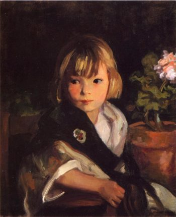 Portrait of Boby | Robert Henri | oil painting