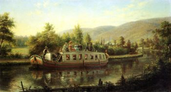 Early Days of Rapid Transit | Edward Lamson Henry | oil painting