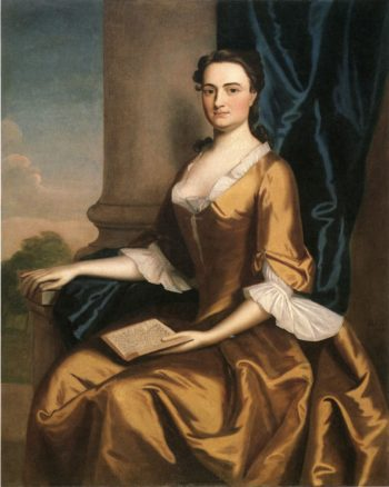 Mrs. Charles Apthorp (Grizzell Eastwick Apthorp) | Robert Feke | oil painting