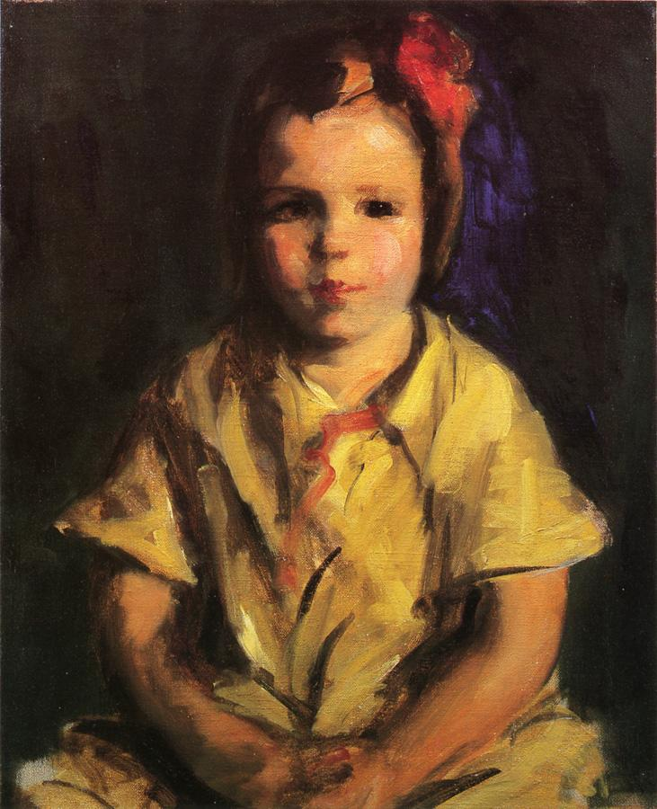Portrait of Faith | Robert Henri | oil painting